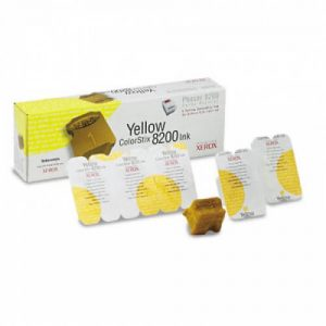 016204700 solid ink yellow, 5 sticks, 7000p for Phaser 8200