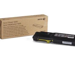 106R02235 Toner capacitate mare yellow pentru Phaser 6600, WorkCentre 6605